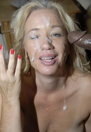 mature facial Free porn
